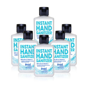 Instant Hand Sanitizer - 6 Pack of 2oz Bottles