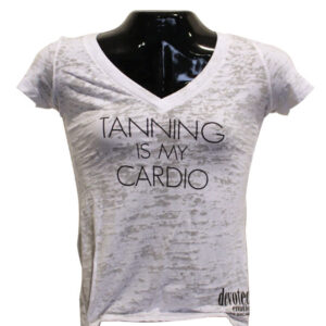 T-Shirt (Tanning is My Cardio)